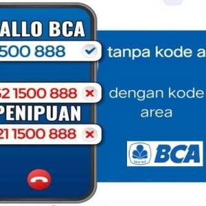 Penipuan Mengatasnamakan Bank BCA