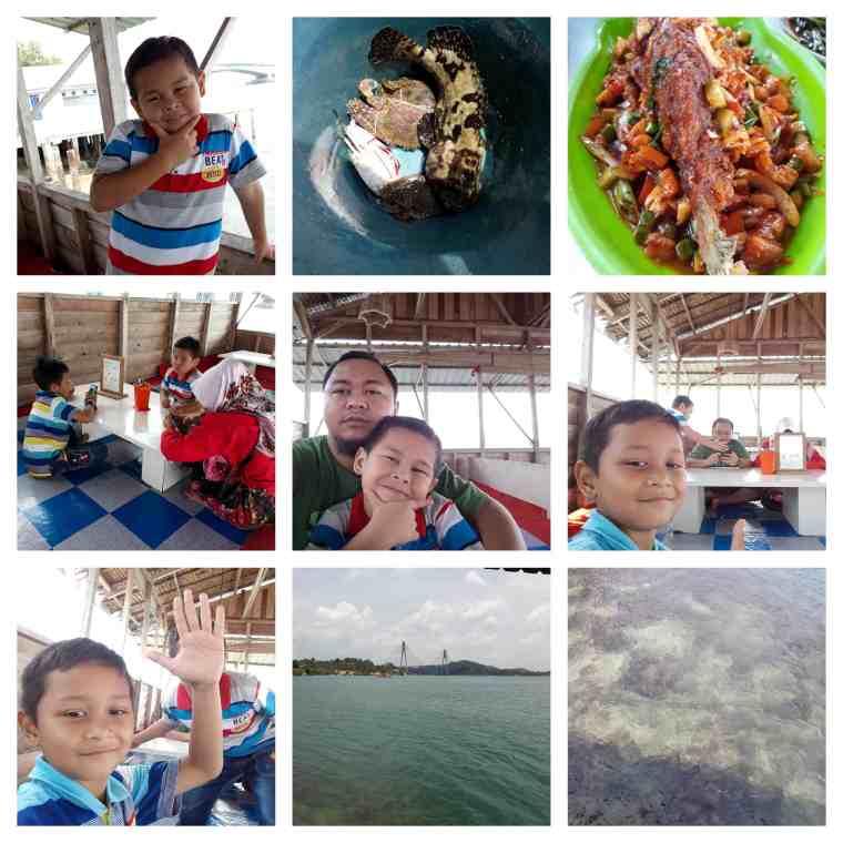 restoran seafood air masin