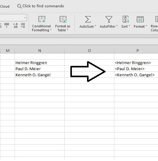 Cara Menambahkan Karakter diawal dan akhir kalimat pada Ms Excel