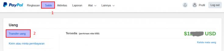 Cara Menarik Uang dari Paypal Ke Rekening Bank Indonesia