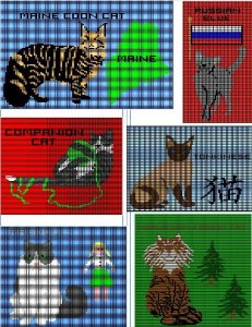 Patterns from the Crafty Cat Knits - 2