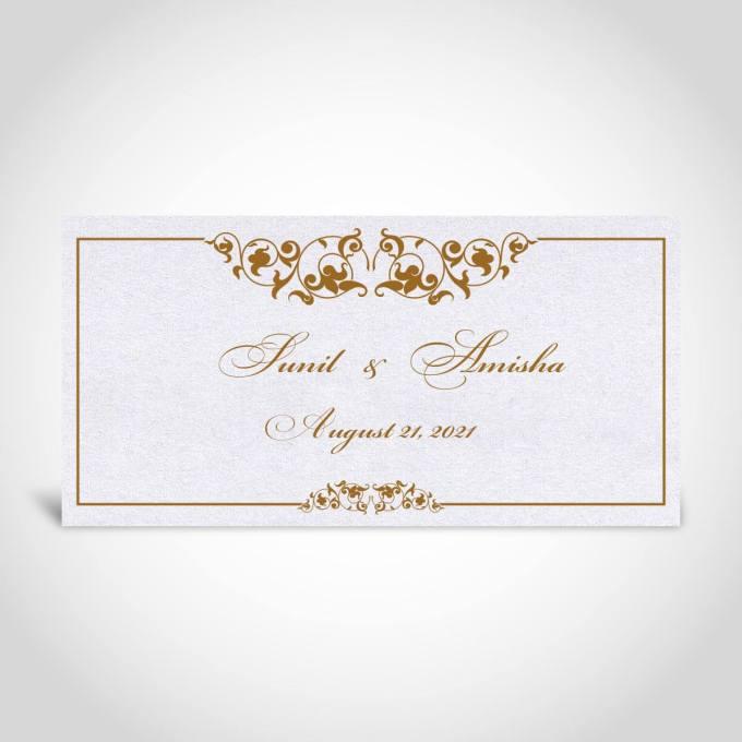 Indian Wedding Card – CFK29