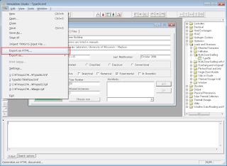 メニューバーから[File] - [Export to HTML...]
