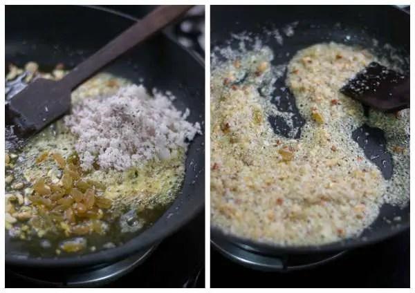Rava-laddu-recipe-tamil-nadu-style-fry-coconut