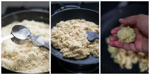 Rava-laddu-recipe-tamil-nadu-style-fry-make-balls