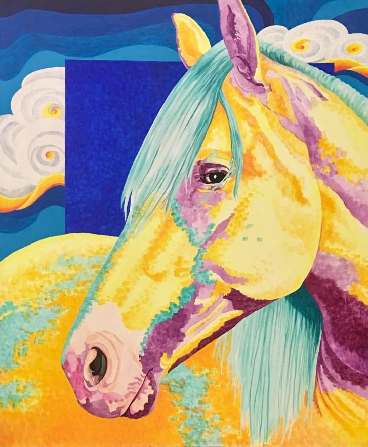 Horse by Jeanne Trueax