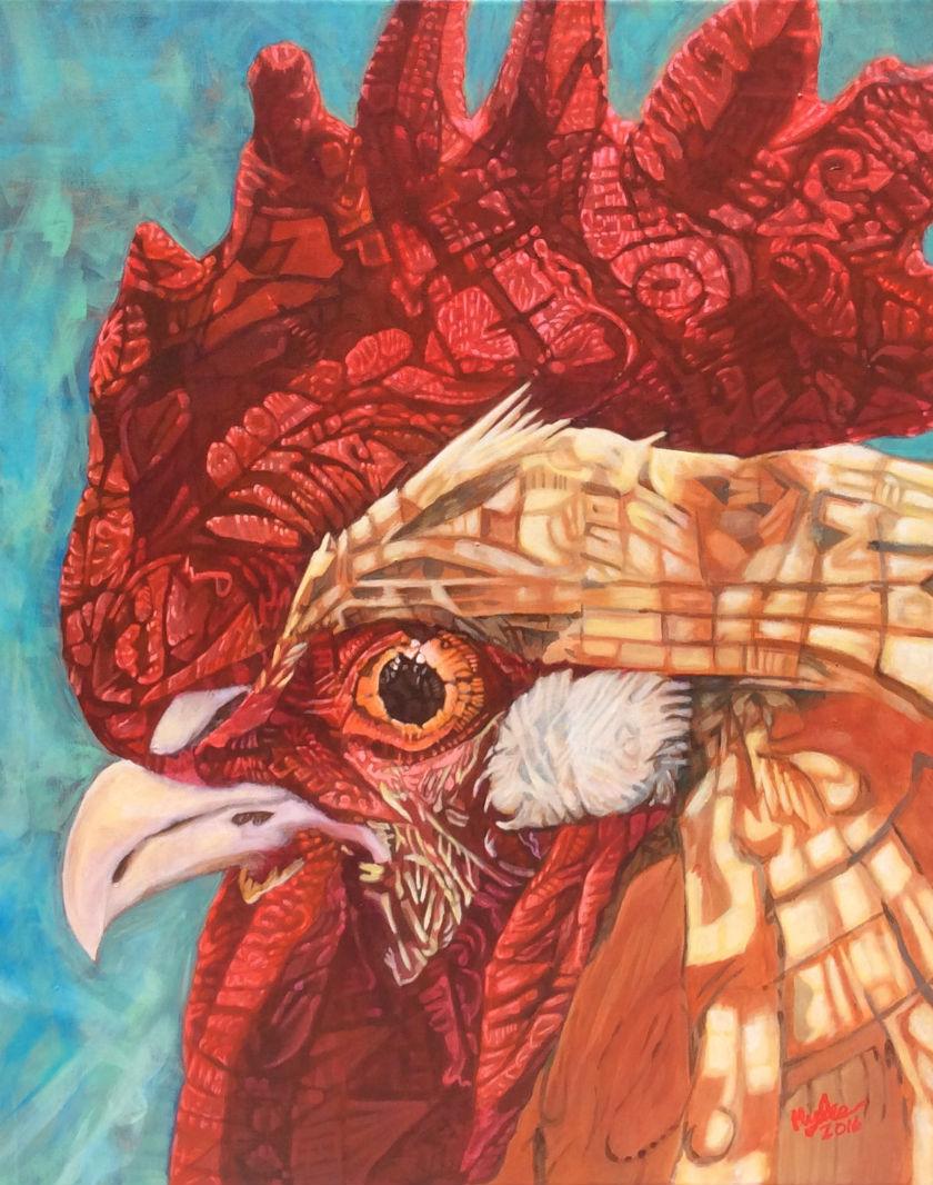 Suspisious Chicken by Eric Myles Jones