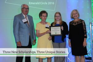 Three New Scholarships. Three Unique Stories.