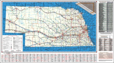 2012 Nebraska Bicycle Map   Kansas Cyclist News 2012 Nebraska Bicycle Map  Page 1