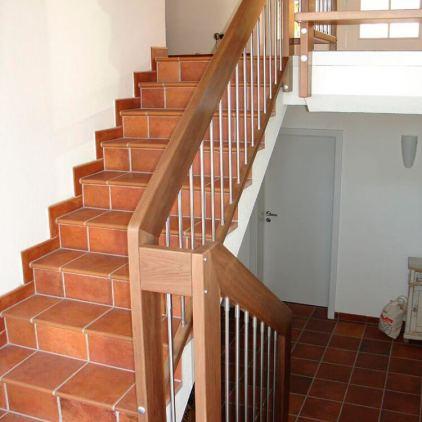 Treppengelaender Fantasy mit Ober und Untergurt