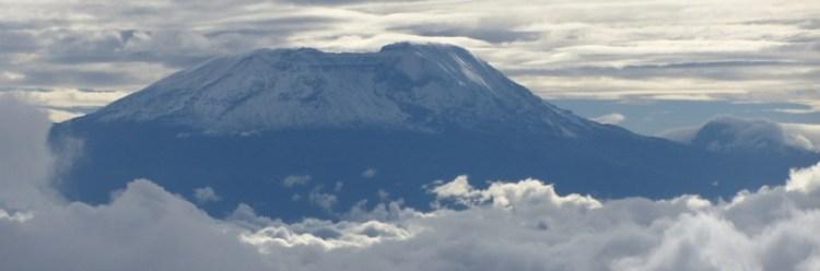 kilimanjaro in cloud