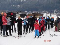 Start Biathlonwettkampf
