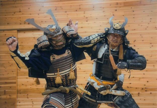 Hatsumi Sensei in Yoroi