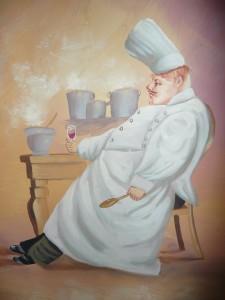 Der Koch - tiefentspannt - Foto: Barbara Schneider  / pixelio.de
