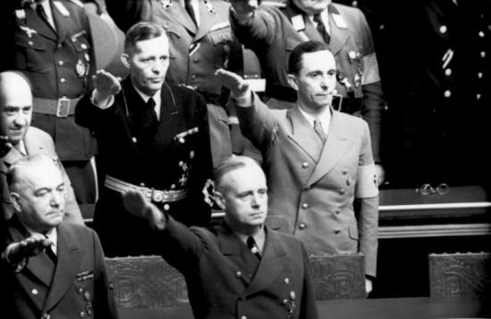 Berlin, Reichstagssitzung, Goebbels, Ribbentrop