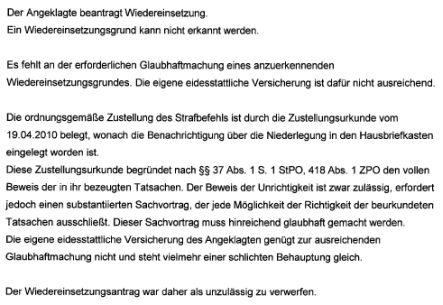 amtsgericht tiergarten - Einspruch Gegen Strafbefehl Muster