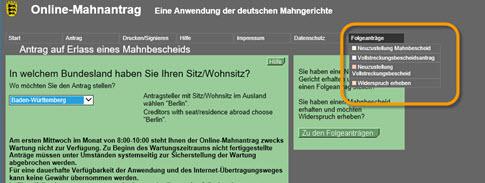 Folge-Anträge im EDA Mahnverfahren in maschinenlesbarer Form als .eda Datei erstellen - via Online-Mahnverfahren.de