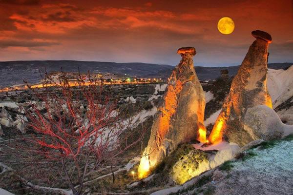 Kapadokya Kırmızı Tur Resimleri