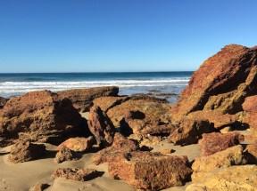 Rocks on Anglesea Beach, Great Ocean Road