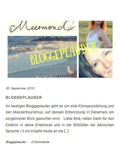 bloggeplauder