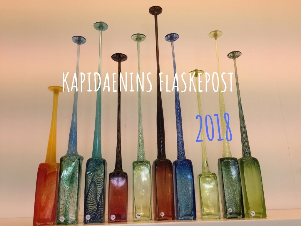 Kapidaenins Flaskepost 2018