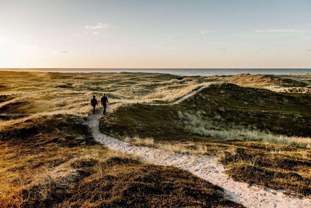 Wandern im Nationalpark Thy