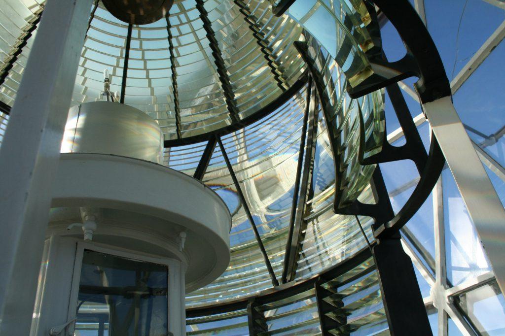 Linse des Leuchtturms Foto: Ane Margrethe Bjerre