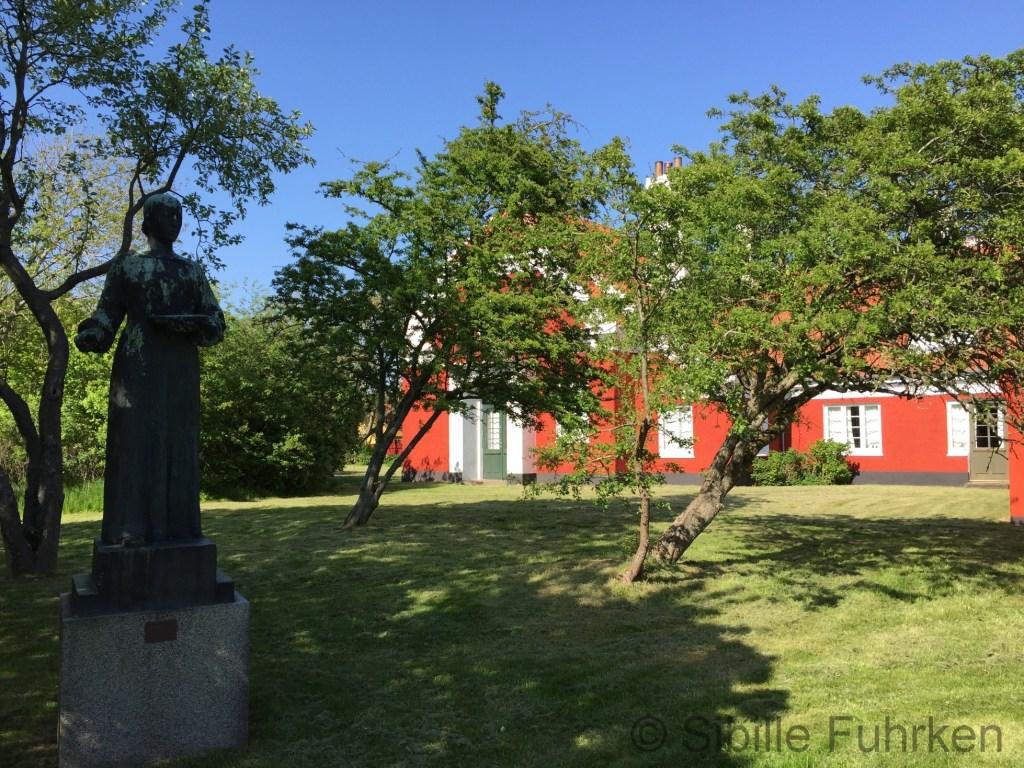 Im Garten des Anchershus (c)SFuhrken