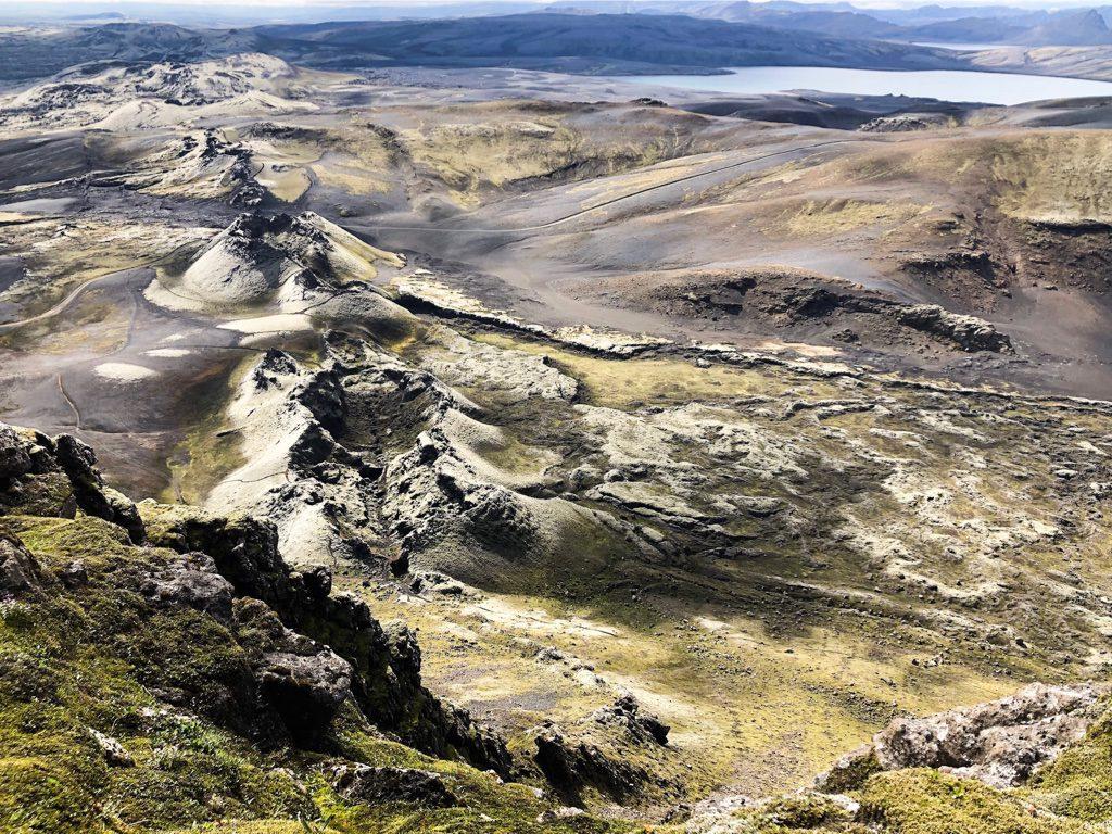 Blick über das Hochland Islands