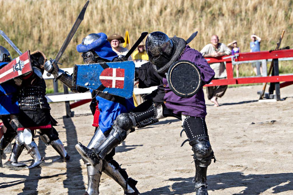 Das Mittelalter wird lebendig auf Burg Spøttrup (c) Museum Salling