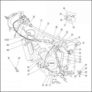 Cable Routing  Yamaha R6  Kappa Motorbikes