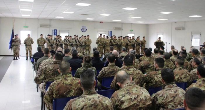KOSOVO: CAMBIO AL COMANDO DEL GRUPPO SUPPORTO DI ADERENZA