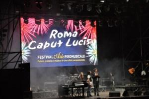 I fuochi d'artificio di Roma Caput Lucis all'Ippodromo delle Capannelle