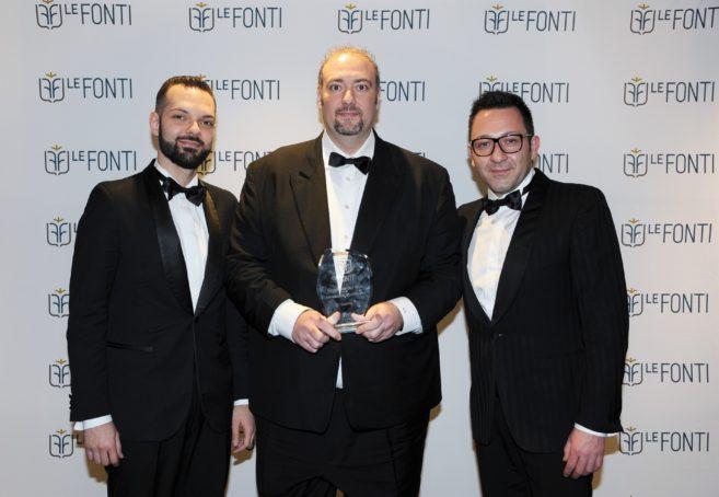 Le Fonti Awards premia 4M.A.N Consulting come eccellenza dell' anno