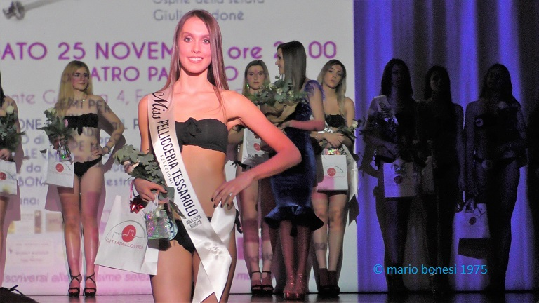 Miss Città Murata 2018, Chiara Masiero si classifica seconda