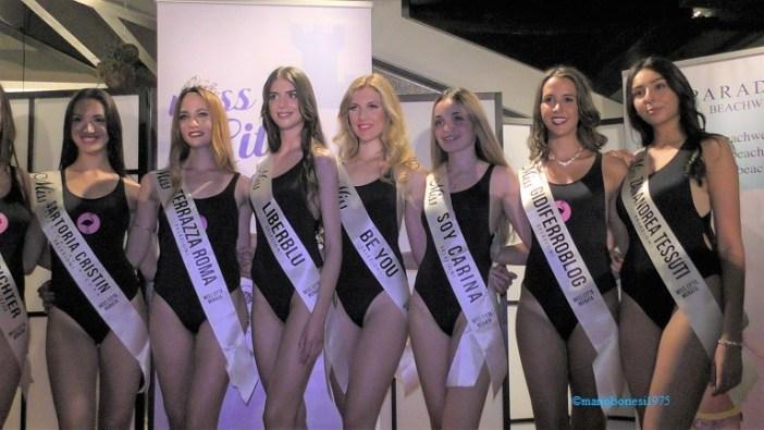 Miss Città Murata 2018: Katia Lovat è Miss Terrazza Roma