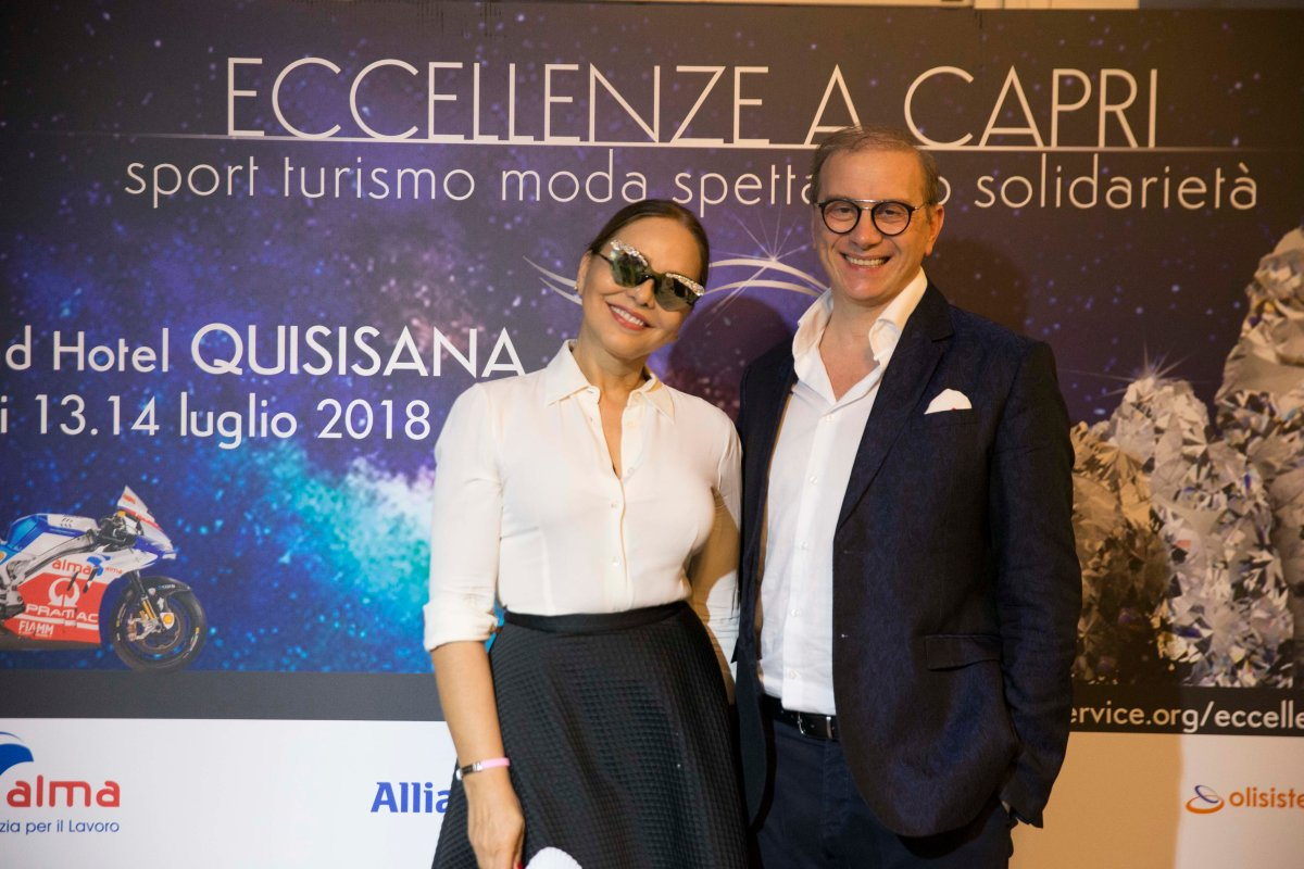 I MITI DEL CINEMA ALL'EVENTO ECCELLENZE A CAPRI