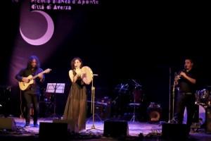 Francesca Incudine vince il premio Bianca D'Aponte 2018