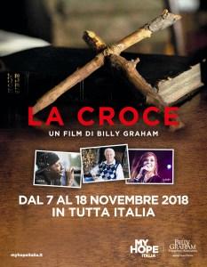 """CENTENARIO NASCITA BILLY GRAHAM: A NAPOLI IL FILM """"LA CROCE"""""""