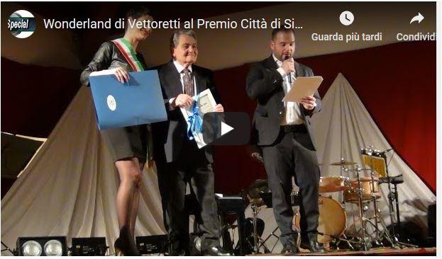Wonderland di Vettoretti al Premio Città di Silea