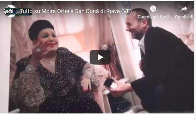 Tutto su Moira Orfei a San Donà di Piave (VE)