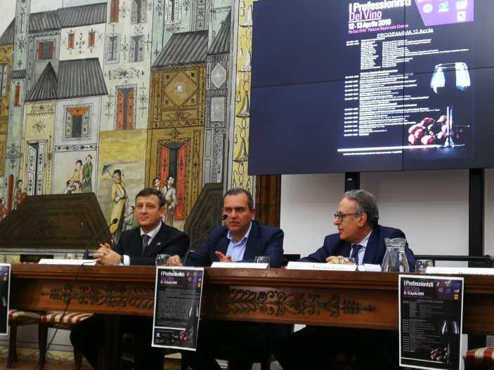 Professionisti del vino riuniti in Campania
