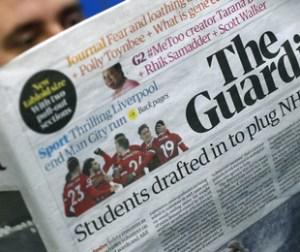 """Il giornale """"The Guardian"""""""
