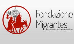 Locandina della fondazione Migrantes