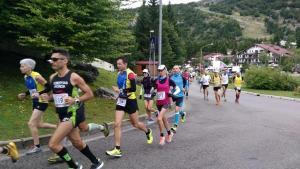 Maratona Piancavallo-Consiglio: Corre anche il nonvedente Frau