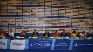 Napoli presenta Summer Universiade 2019
