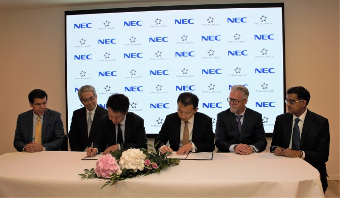 Al via la partnership tra Star Alliance e NEC Corporation