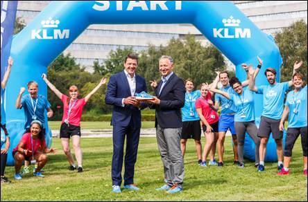 "KLM E ASICS siglano partnership per una scarpa ""special edition"""