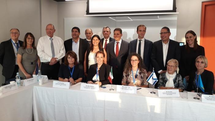 """Delegazione italiana in Israele per il progetto Unesco """"Lerning Cities"""""""