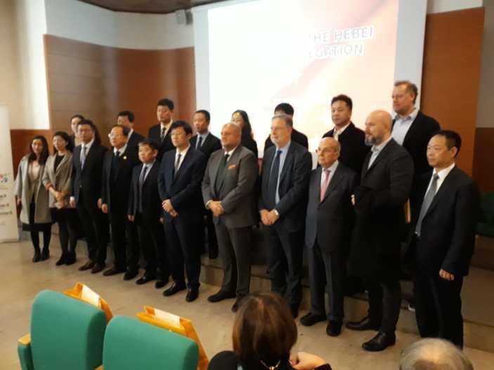 Delegazione cinese di Hebei in Veneto